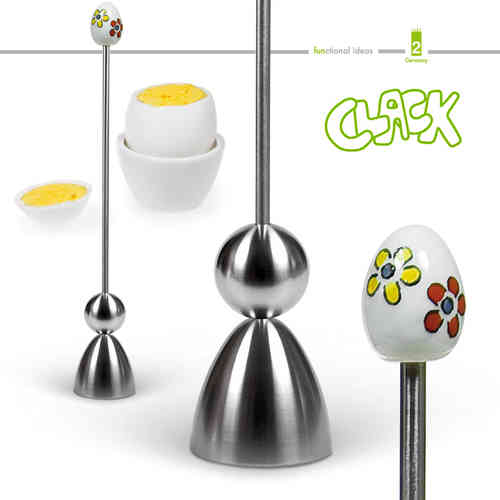 Take2 - CLACK - egg cracker - Flower