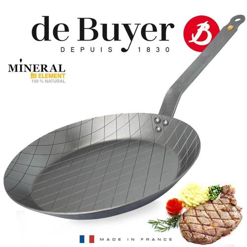 de Buyer - Steak Pan - Mineral B Element