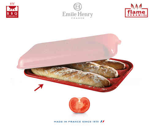 Emile Henry - Baguettes Set Replacement Mould - Red