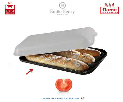 Emile Henry - Baguettes Set Replacement Mould - Coal
