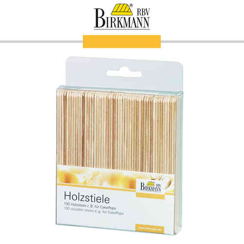 RBV Birkmann - Wooden lollipop sticks