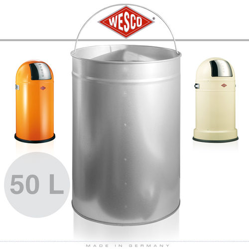 Wesco - Insert 50 Litre Metal - Pushboy