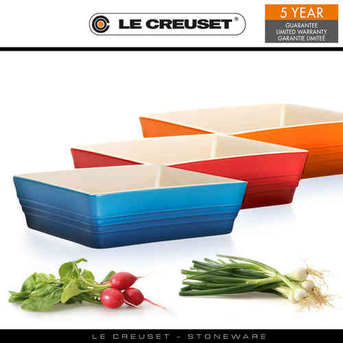Le Creuset - Classic Rectangular Dishes 19 x 16 cm