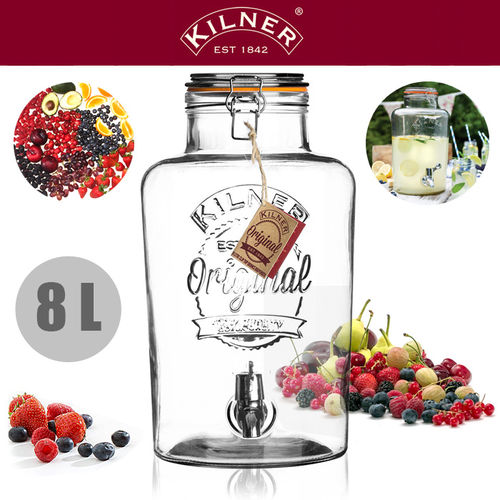 Kilner - Drinks Dispenser 8 Litre
