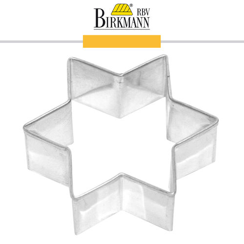 RBV Birkmann - Cookie cutter Star 6 cm