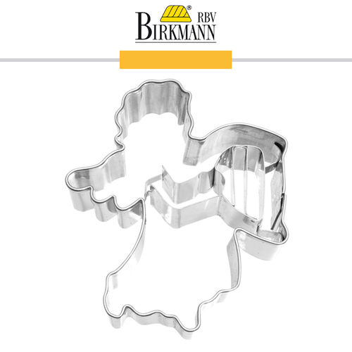 RBV Birkmann - Cookie cutter Angel with harp