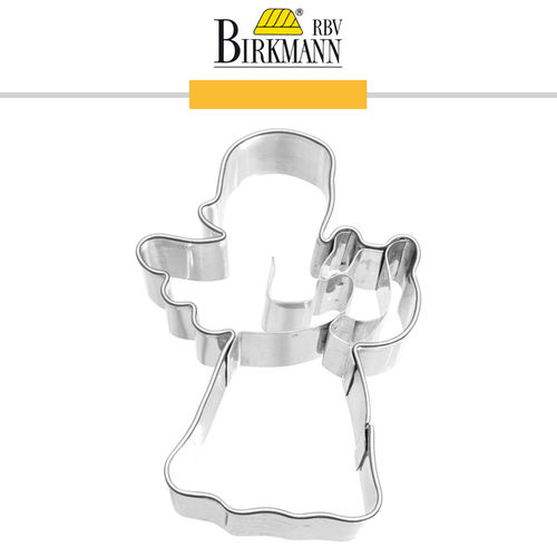 RBV Birkmann - Cookie cutter Angel with mini harp