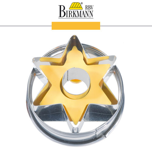 RBV Birkmann - Cookie cutter Star with inner hole