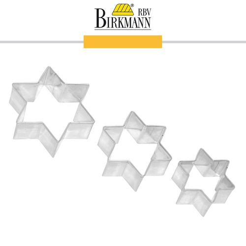RBV Birkmann - Cookie cutter Star 3-piece