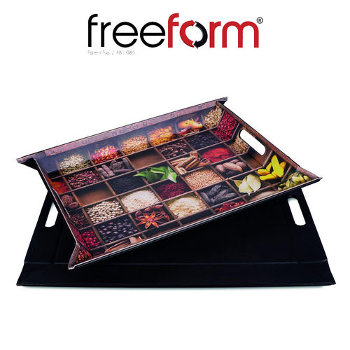 Freeform - Tray - Spices & Black - 55 x 41 cm