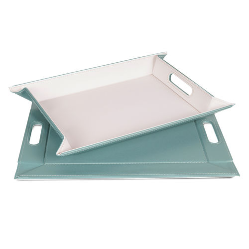 Freeform - Tray - Mint / Ivory - 55 x 41 cm