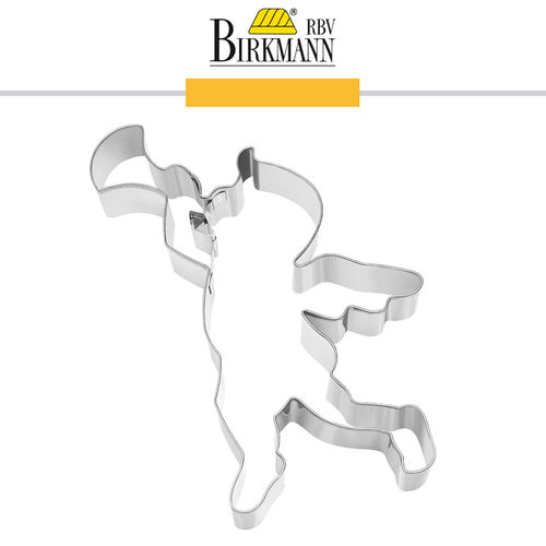 RBV Birkmann - Cookie cutter  Angel with trumpet 15 cm