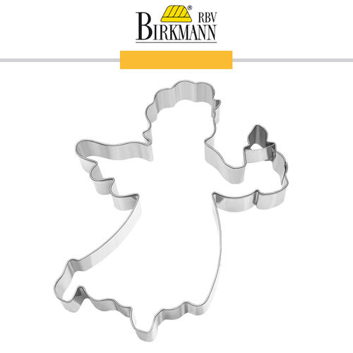 RBV Birkmann - Cookie cutter  Angel with candle 15 cm