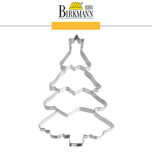 RBV Birkmann - Cookie cutter Christmas tree 18,5 cm