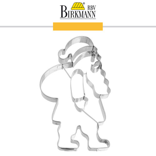 RBV Birkmann - Cookie cutter Father Christmas  18,5 cm
