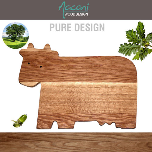 Macani Wood - Cutting Board Cow 35 x 25 cm