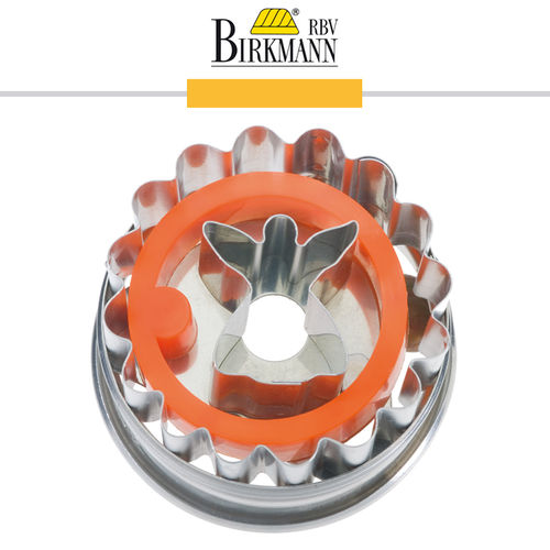 RBV Birkmann - Cookie cutter Linzer cookie with angel 5 cm