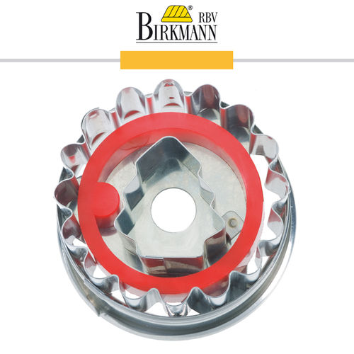 RBV Birkmann - Cookie cutter Linzer cookie with fir tree 5 cm
