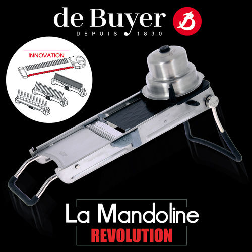 de Buyer - La Mandoline Revolution
