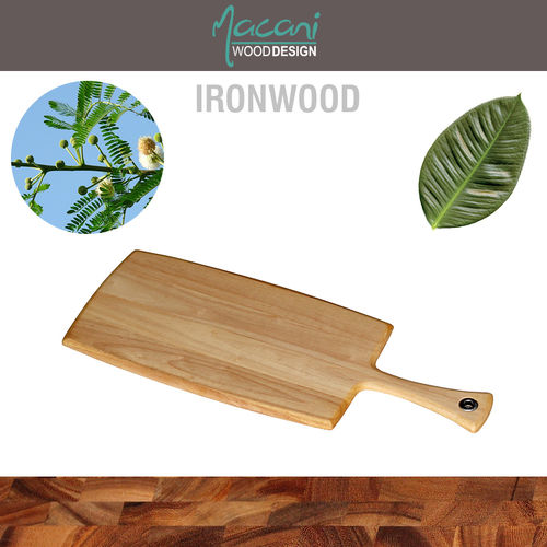 Macani Wood - Large Paddleboard Rubber 35 x 20 cm