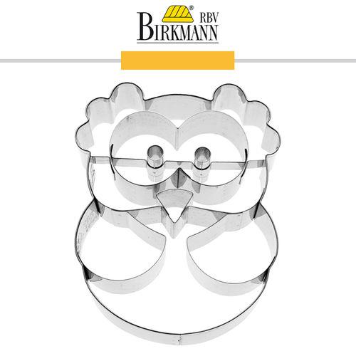 RBV Birkmann - Cookie cutter Alva the owl 9 cm