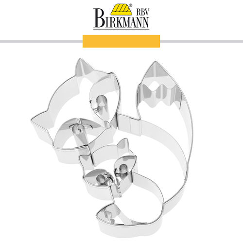 RBV Birkmann - Cookie cutter Fox Frieda & Filu 10 cm