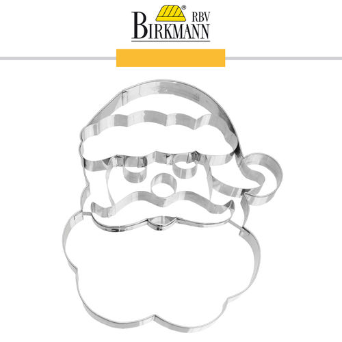 RBV Birkmann - Cookie cutter Santa face 18,5 cm