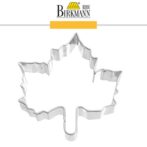 RBV Birkmann - Cookie cutter Maple 6,5 cm
