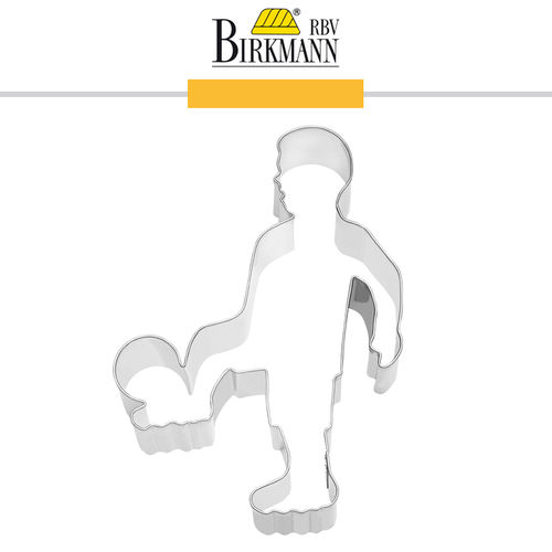 RBV Birkmann - Cookie cutter Footballer 11,5 cm