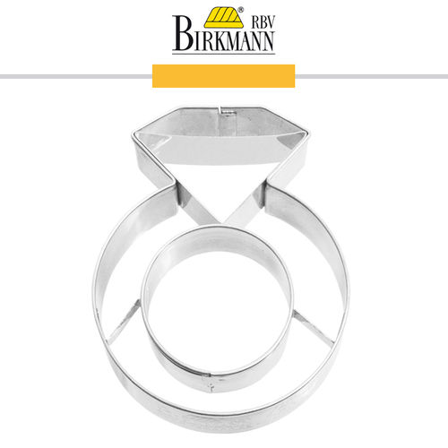 RBV Birkmann - Ausstechform Brilliant-Ring 7 cm