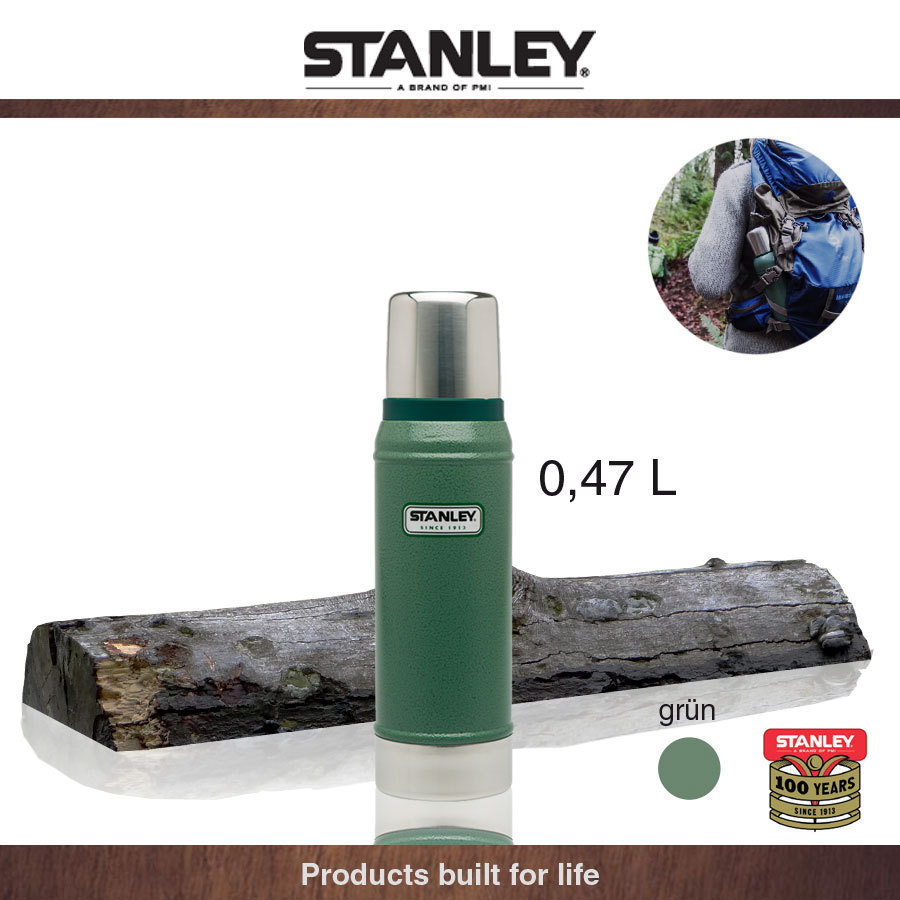 Stanley - Outdoor - Classic Vacuum Flask green 0,47 L