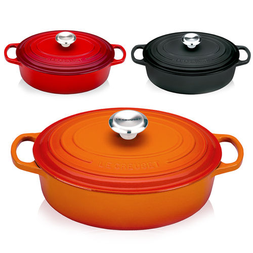Le Creuset - Signature Oval Wide French Oven 27 cm