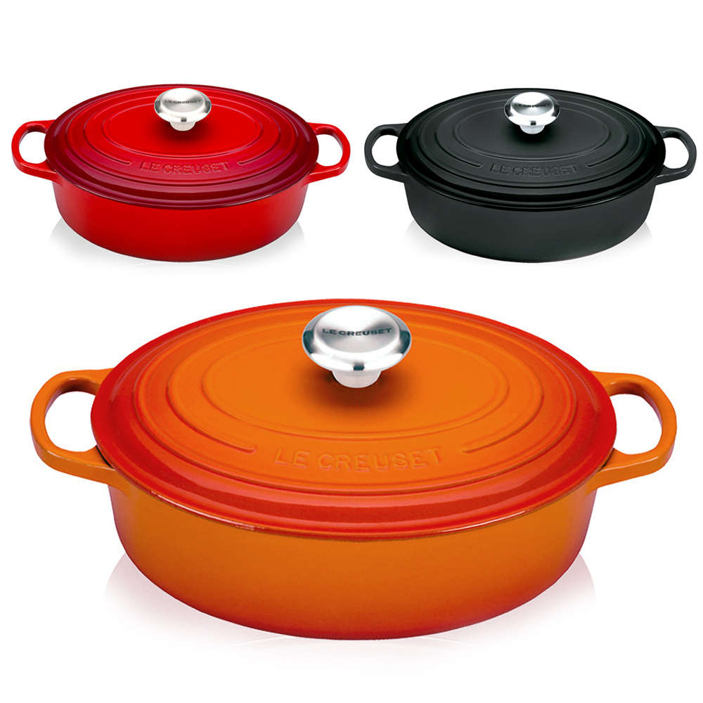 Le Creuset Signature Oval Wide French Oven 27 Cm Cast Iron