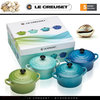 Le Creuset - Set of 4 Petite Casseroles - Ocean Breeze