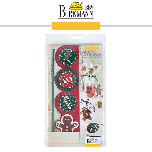RBV Birkmann - Mini Cellophane Bag Candy Christmas