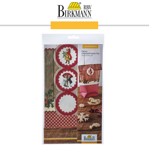 RBV Birkmann - Paper Gift Bag Set Winter Poetry
