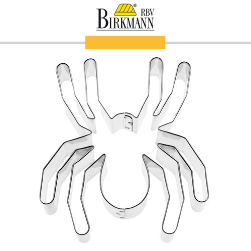 RBV Birkmann - Cookie cutter Spider 9 cm
