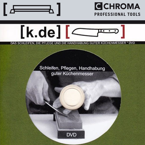 CHROMA - Chef knife grinding, care ...DVD