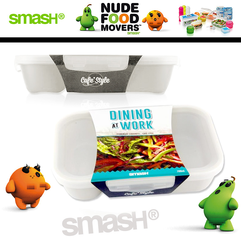 Smash - Nude Food Movers - Lunchbox White