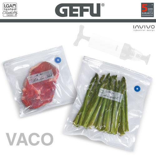 Gefu - Vacuum-sealing bag set - 8 pieces