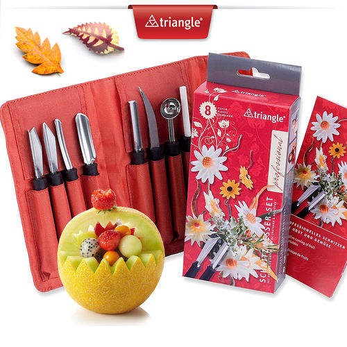 Triangle® - Carving Tool Set - Professional - 8-piece