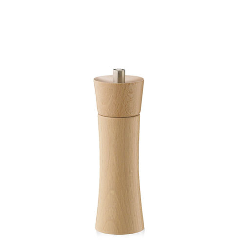 "Zassenhaus - Pepper / Salt Mill ""Frankfurt"" - natural beech - 18 cm"