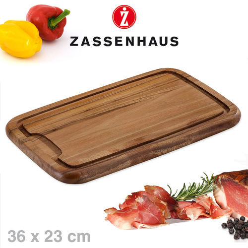 Zassenhaus - Carving board acacia wood - 36x23 cm