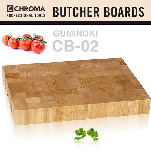 CHROMA - CB-02 Butcher Board Guminoki