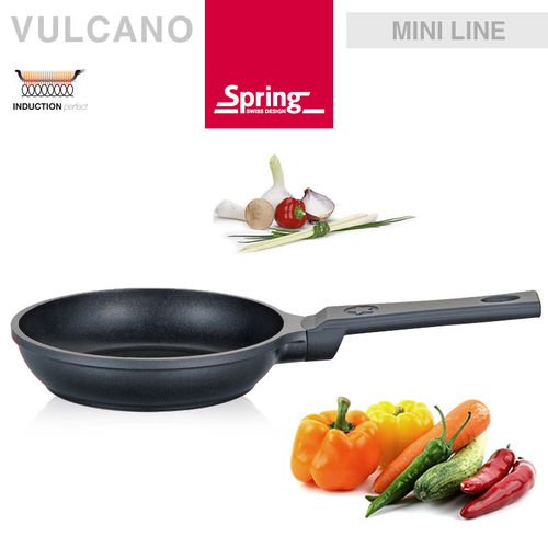 Spring - Mini Frying pan Ø 16 cm - black
