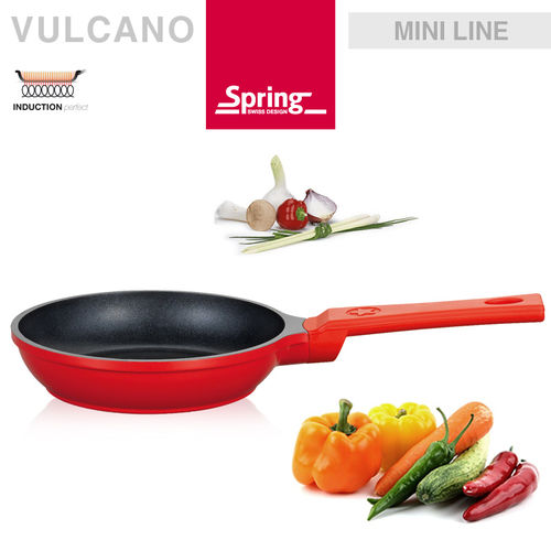 Spring - Mini Frying pan Ø 16 cm - red