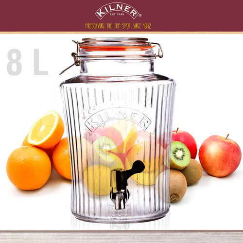 Kilner - Drinks Dispenser VINTAGE 8 Litre