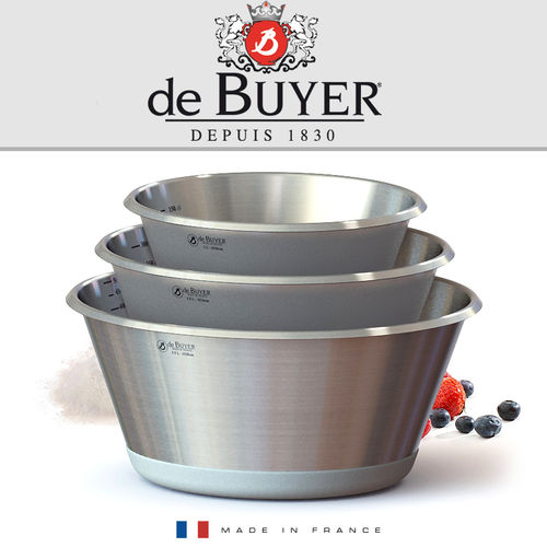 de Buyer - Stainless steel conical bowl