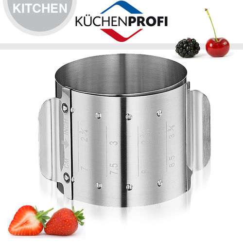 Küchenprofi - Dessert ring, adjustable