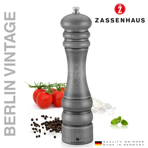 "Zassenhaus - Pepper and salt mill ""Berlin"" Vintage - 24 cm"